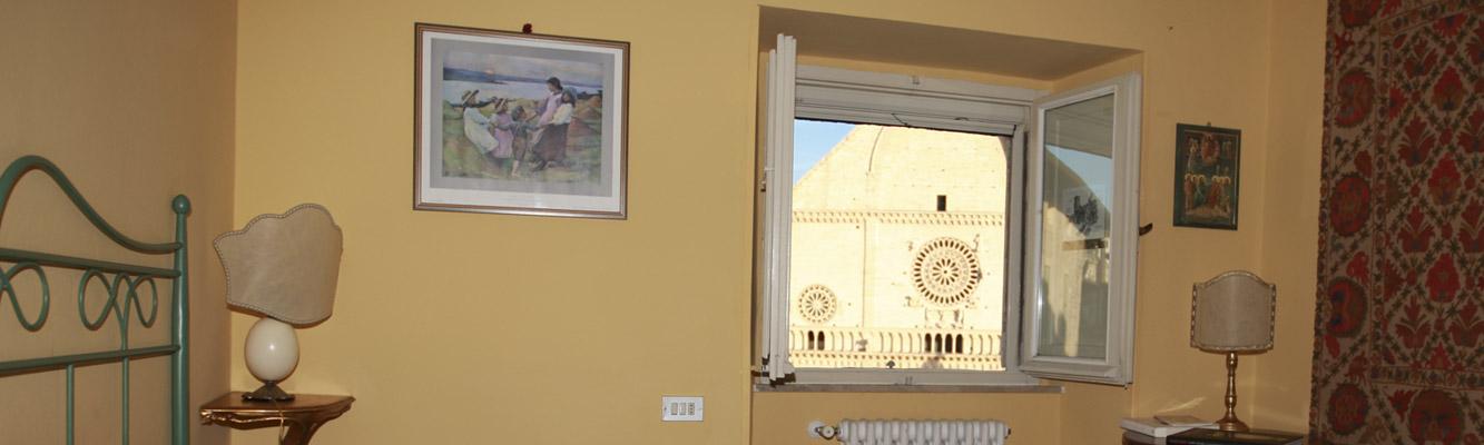 Appartamenti con <strong>Vista sul DUOMO di San Rufino</strong>
