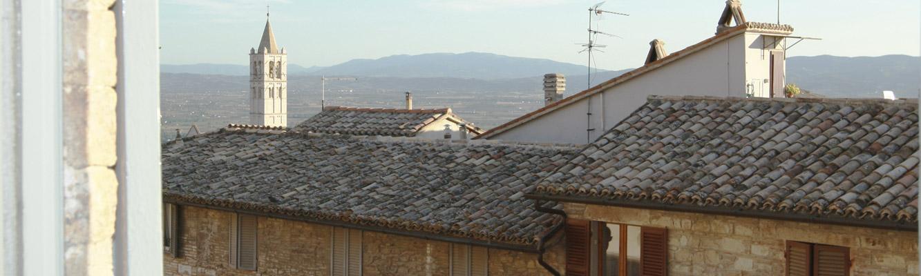Nel centro storico di Assisi affitto appartamenti <strong>Palazzo Minciotti</strong>